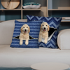 They Steal Your Couch - Golden Retriever Pillow Cases V1 (Set of 2)