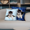 They Steal Your Couch - Husky Pillow Cases V1 (Set of 2)