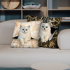 They Steal Your Couch - Persian Chinchilla Cat Pillow Cases V1 (Set of 2)