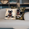 They Steal Your Couch - Schnauzer Pillow Cases V1 (Set of 2)