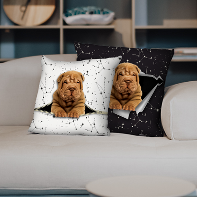 They Steal Your Couch - Shar Pei Pillow Cases V1 (Set of 2)