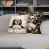 They Steal Your Couch - Shih Tzu Pillow Cases V2 (Set of 2)