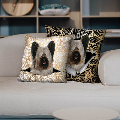 They Steal Your Couch - Skye Terrier Pillow Cases V1