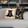 They Steal Your Couch - Staffordshire Bull Terrier Pillow Cases V1 (Set of 2)
