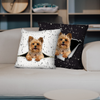 They Steal Your Couch - Yorkshire Terrier Pillow Cases V2 (Set of 2)