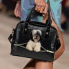 Tibetan Terrier Shoulder Handbag V1