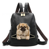 Tibetan Spaniel Backpack V1
