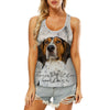 Treeing Walker Coonhound - Hollow Tank Top V1