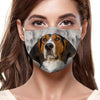 Treeing Walker Coonhound F-Mask V1