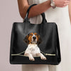Treeing Walker Coonhound Luxury Handbag V1