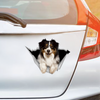 We Like Riding In Cars - Australian Shepherd Car/ Door/ Fridge/ Laptop Sticker V2