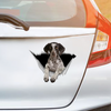 We Like Riding In Cars - German Shorthaired Pointer Car/ Door/ Fridge/ Laptop Sticker V1