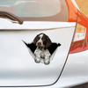 We Like Riding In Cars - German Shorthaired Pointer Car/ Door/ Fridge/ Laptop Sticker V2