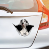 We Like Riding In Cars - Great Dane Car/ Door/ Fridge/ Laptop Sticker V1