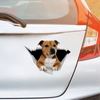 We Like Riding In Cars - Staffordshire Bull Terrier Car/ Door/ Fridge/ Laptop Sticker V3