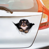 We Like Riding In Cars - Tibetan Spaniel Car/ Door/ Fridge/ Laptop Sticker V2