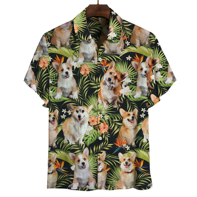 Welsh Corgi - Hawaiian Shirt V1