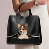 Welsh Corgi Luxury Handbag V1