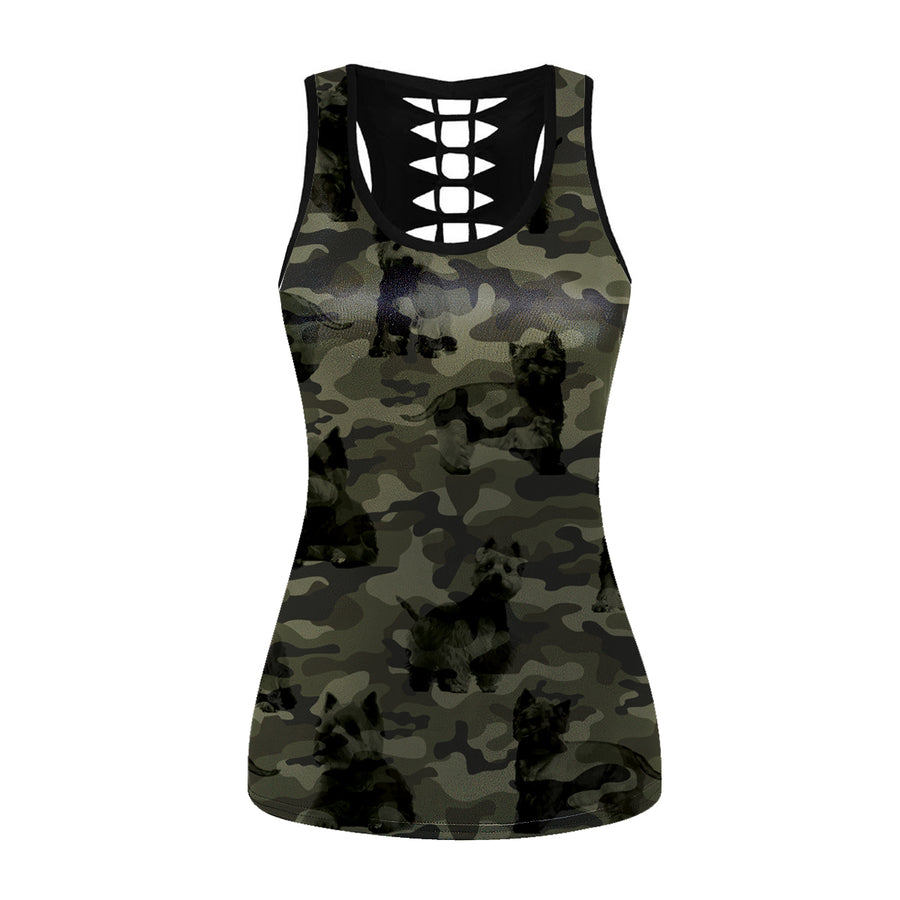 West Highland White Terrier Camo - Holle tanktop V1