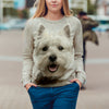 West Highland White Terrier Sweatshirt V1