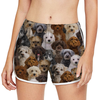 Will Have A Bunch Of Schnoodles - Yoga Shorts V1