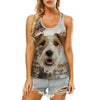Wire Fox Terrier - Hollow Tank Top V1