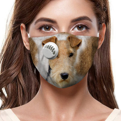 Wire Fox Terrier F-Mask V1