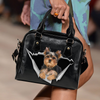Yorkshire Terrier Shoulder Handbag V2