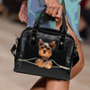 Yorkshire Terrier  Shoulder Handbag V3
