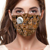 You Will Have A Bunch Of Abyssinian Cats F-Mask (Set of 7 Pieces)