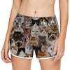 You Will Have A Bunch Of Cats - Yoga Shorts V1