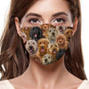 You Will Have A Bunch Of Goldendoodles F-Mask