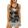 You Will Have A Bunch Of Schnoodles - Hollow Tank Top V1