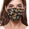 You Will Have A Bunch Of Tibetan Spaniels F-Mask (Set of 7 Pieces)
