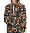 You Will Have A Bunch Of German Shorthaired Pointers - Hoodie V1