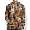 You Will Have A Bunch Of Shar Pei Dogs - Hoodie V1