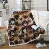 You Will Have A Bunch Of Tibetan Spaniels - Blanket V1