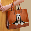 Your Best Companion - Bearded Collie Luxury Handbag V1