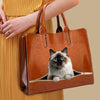 Your Best Companion - Birman Cat Luxury Handbag V1