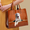 Your Best Companion - Borzoi Luxury Handbag V1