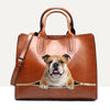 Your Best Companion - English Bulldog Luxury Handbag V2