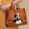 Your Best Companion - Old English Sheepdog Luxury Handbag V1