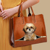 Your Best Companion - Shih Tzu Luxury Handbag V1