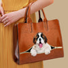 Your Best Companion - St Bernard Luxury Handbag V1