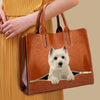 Your Best Companion - West Highland White Terrier Luxury Handbag V1