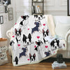 Boston Terrier  Blanket V1