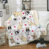 French Bulldog Blanket V5