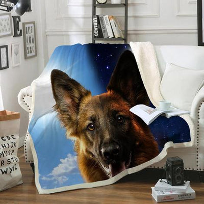 German Shepherd Blanket V3
