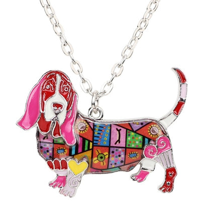 Basset Hound Necklace