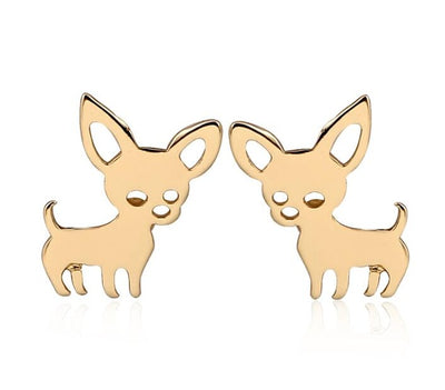 Tiny Chihuahua Earrings
